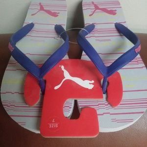 Puma Shoes - PUMA FLIP FLOPS - NEW - Sz 7
